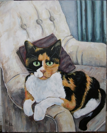 Ginger (2012) Acrylic on Canvas